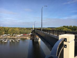 Hwy 63 Eisenhower Bridge of Valor Closed Walkway
