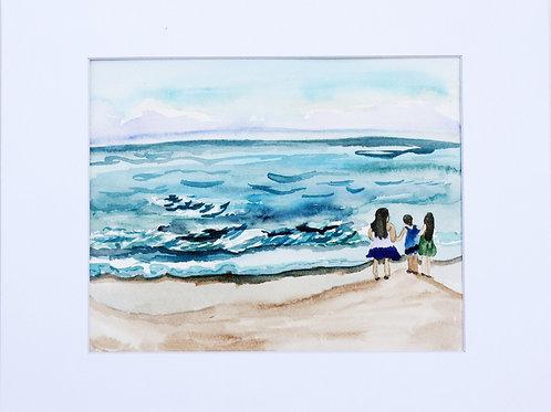 Custom Watercolor Piece
