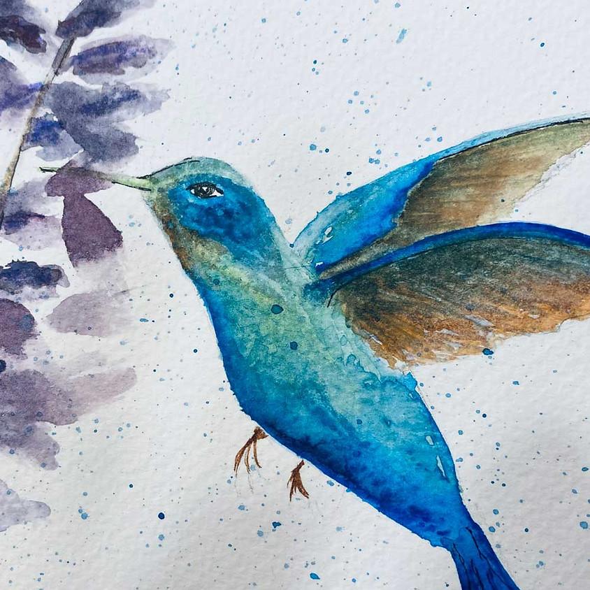 Pen/Ink Watercolor Class
