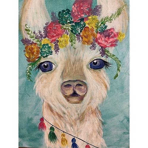 Llama Print