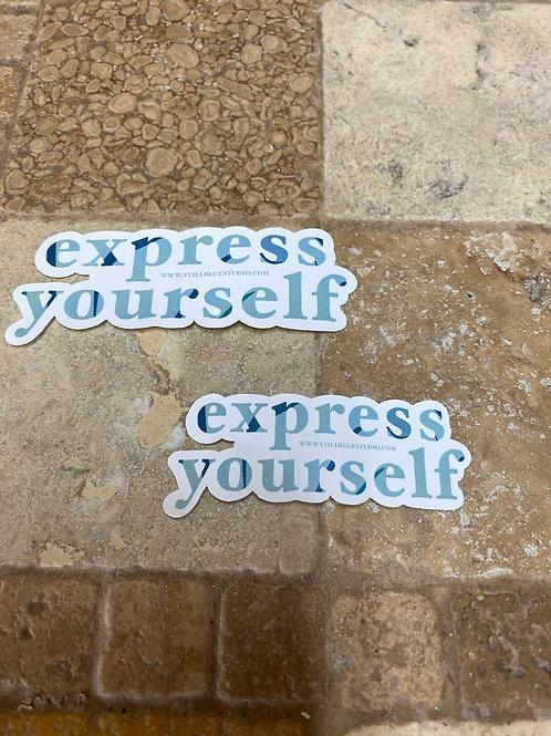 Sticker - Express Yourself