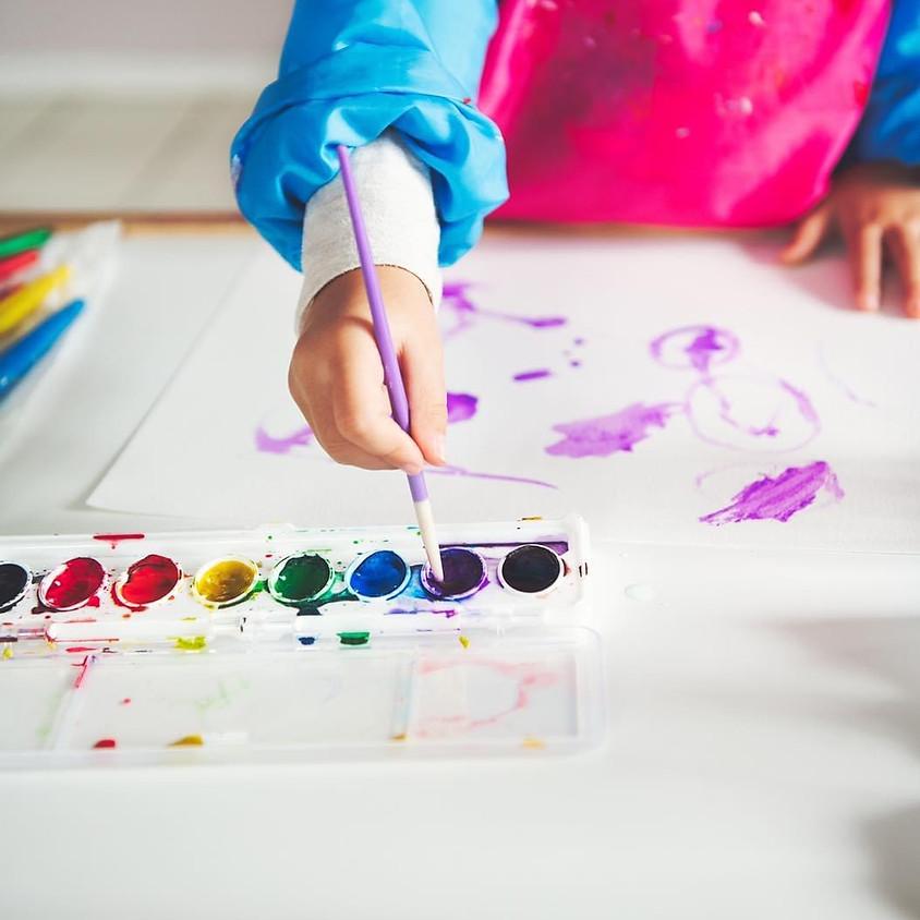 Kids Art Apron