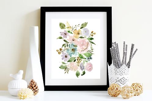 Floral Lovely Art Print