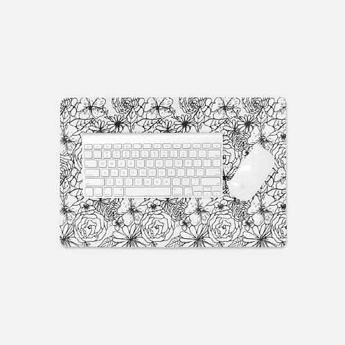 Floral Frenzy Desk Mat
