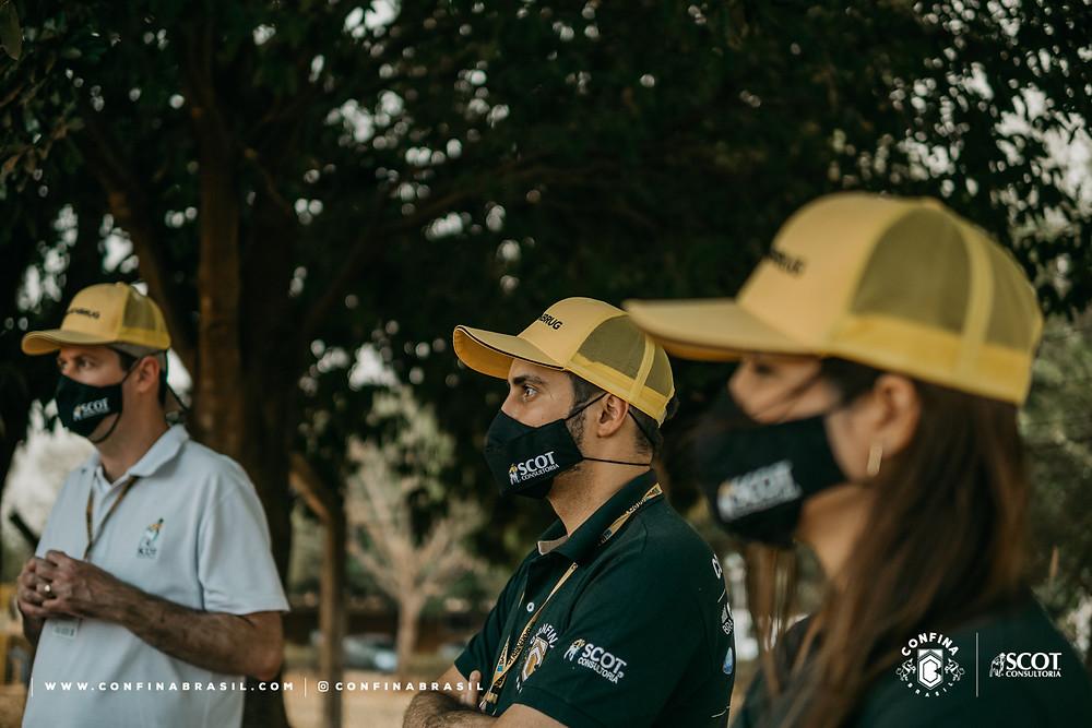equipe confina brasil na barenbrug