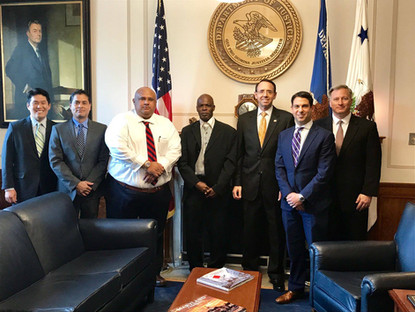 Belize Represented at Human Trafficking Seminar in Washington D.C.