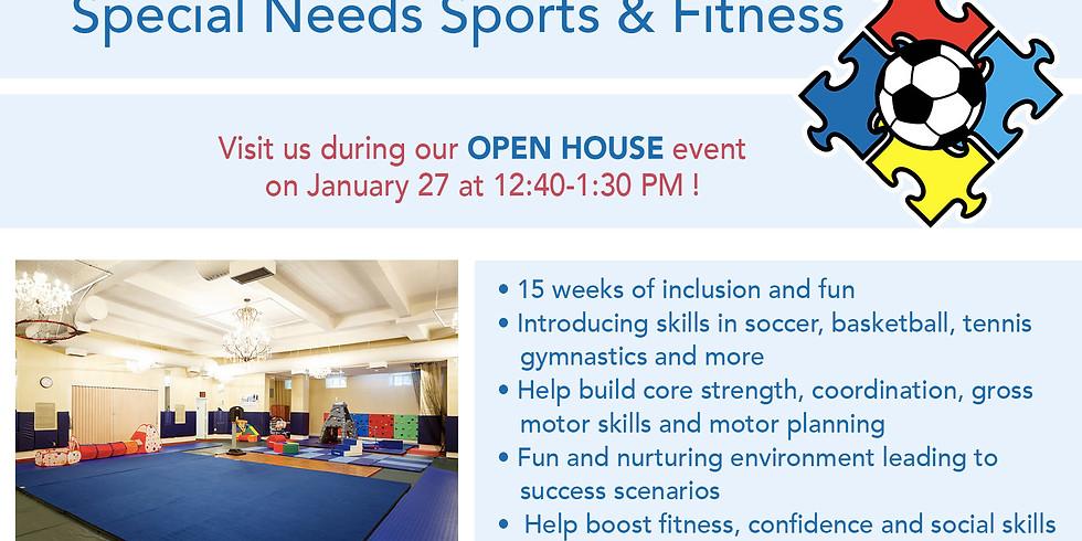 Open Sports Open House
