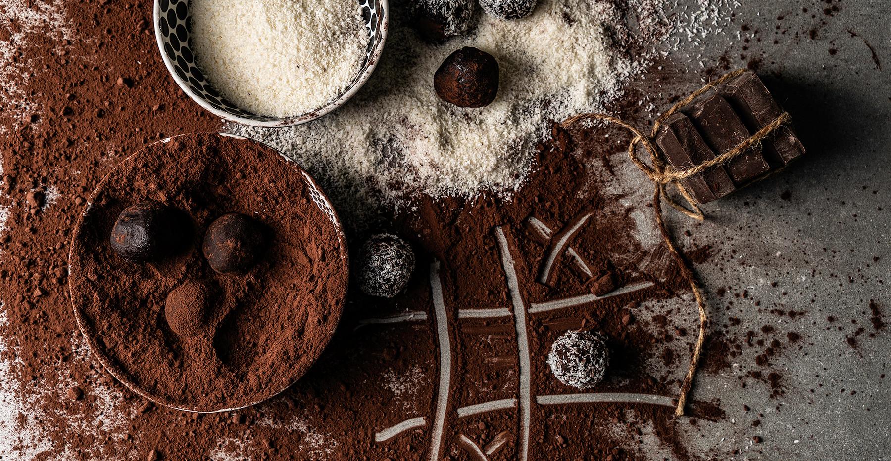 איקס עיגול, כדורי שוקולד וקוקוס
