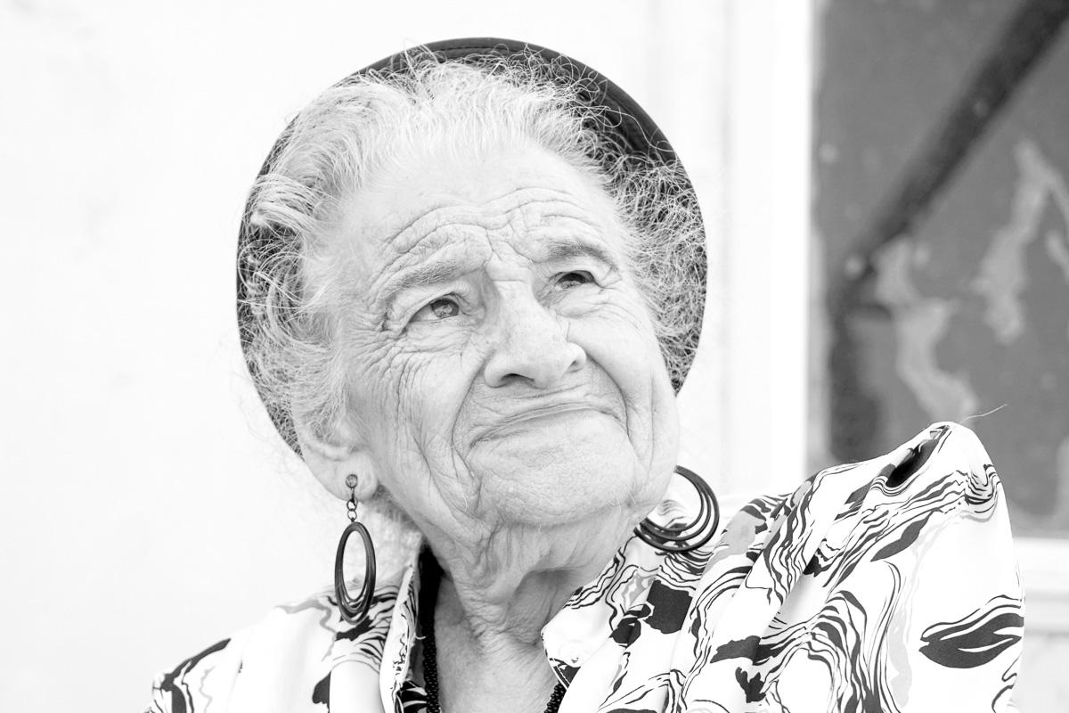 Miss Miryam M. portrait