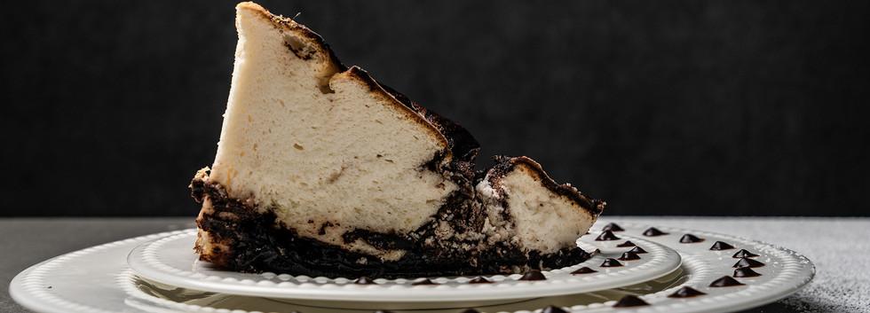 עוגת גביה שוקולד אפויה