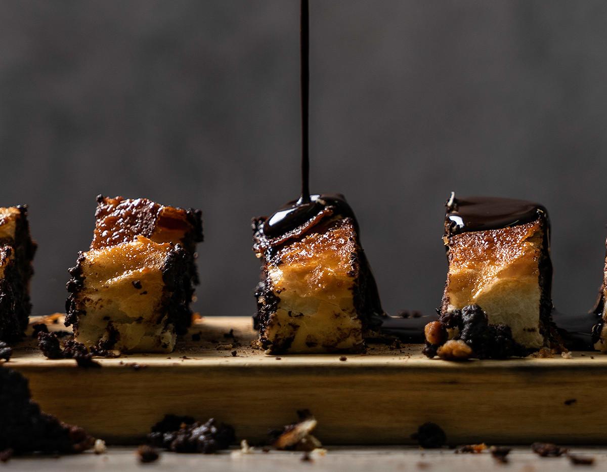 עוגת קראנץ' שוקולד