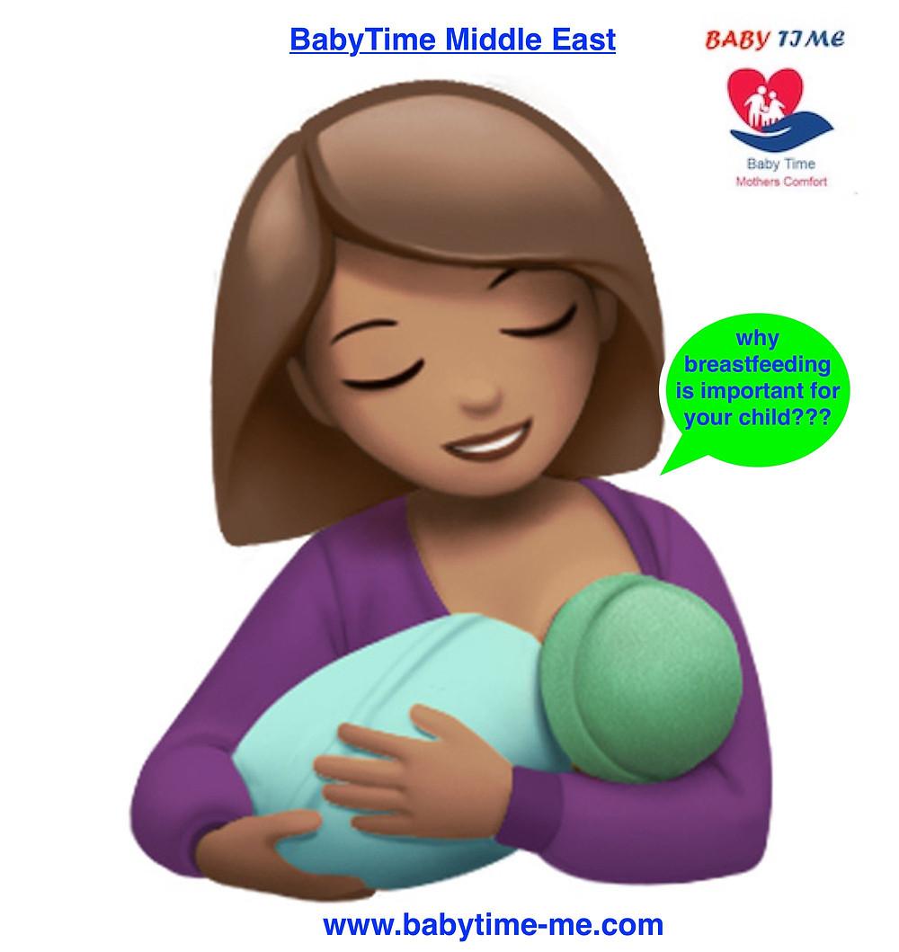breast feeding or bottle formula feeding