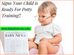 Signs Your Child is Ready For Potty Training!!