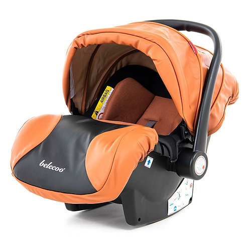 Belecoo Infant Basket Car Seat With Adapter