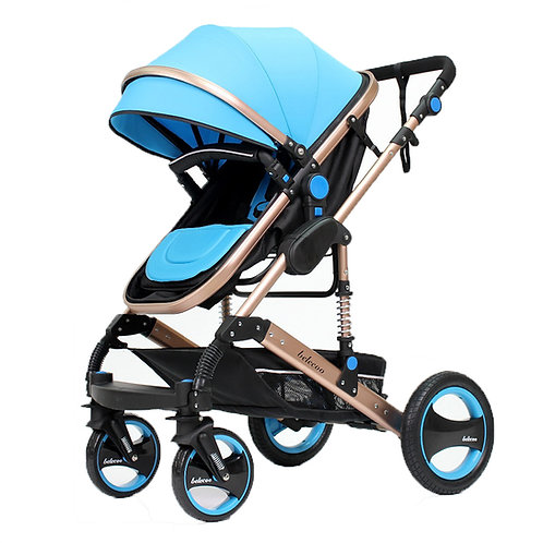 Belecoo Premium Anti Shock Stroller Pram
