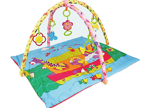 BabyTime™ BABY PLAY MAT GYM INFANT CRAWLING PAD INDOOR ACTIVITY GYM