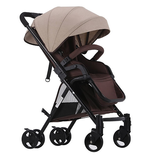BabyTime™ Ultra Light Orsut Stroller Pram