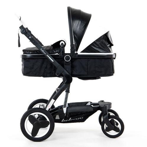 Babytime Belecoo 2019 Model Luxury Pram Stroller 4 In 1 Set With Car Seat