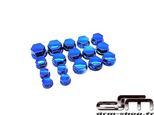 Bouchons de Vis/écrous ( Bleu )