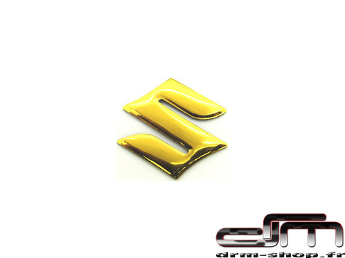 "Sticker 3D "" S "" Suzuki ( Or )"