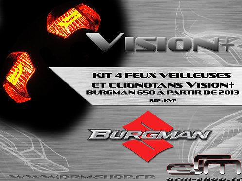 Kit 4 Feux veilleuses et clignotants Vision+