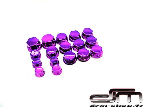 Bouchons de Vis/écrous ( Violet )