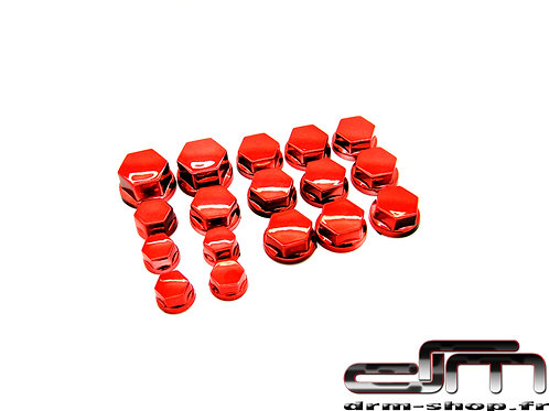Bouchons de Vis/écrous ( Rouge )