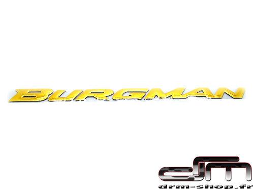 "Sticker 3D "" Burgman ""  ( Or )"