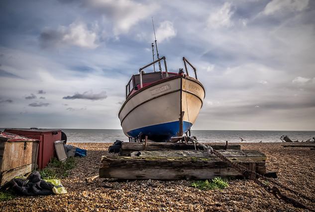 Boat on Deal Beach