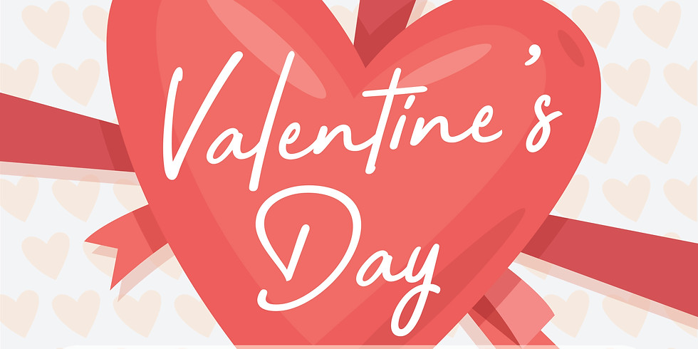 Valentine's Day - 3 Courses $60pp