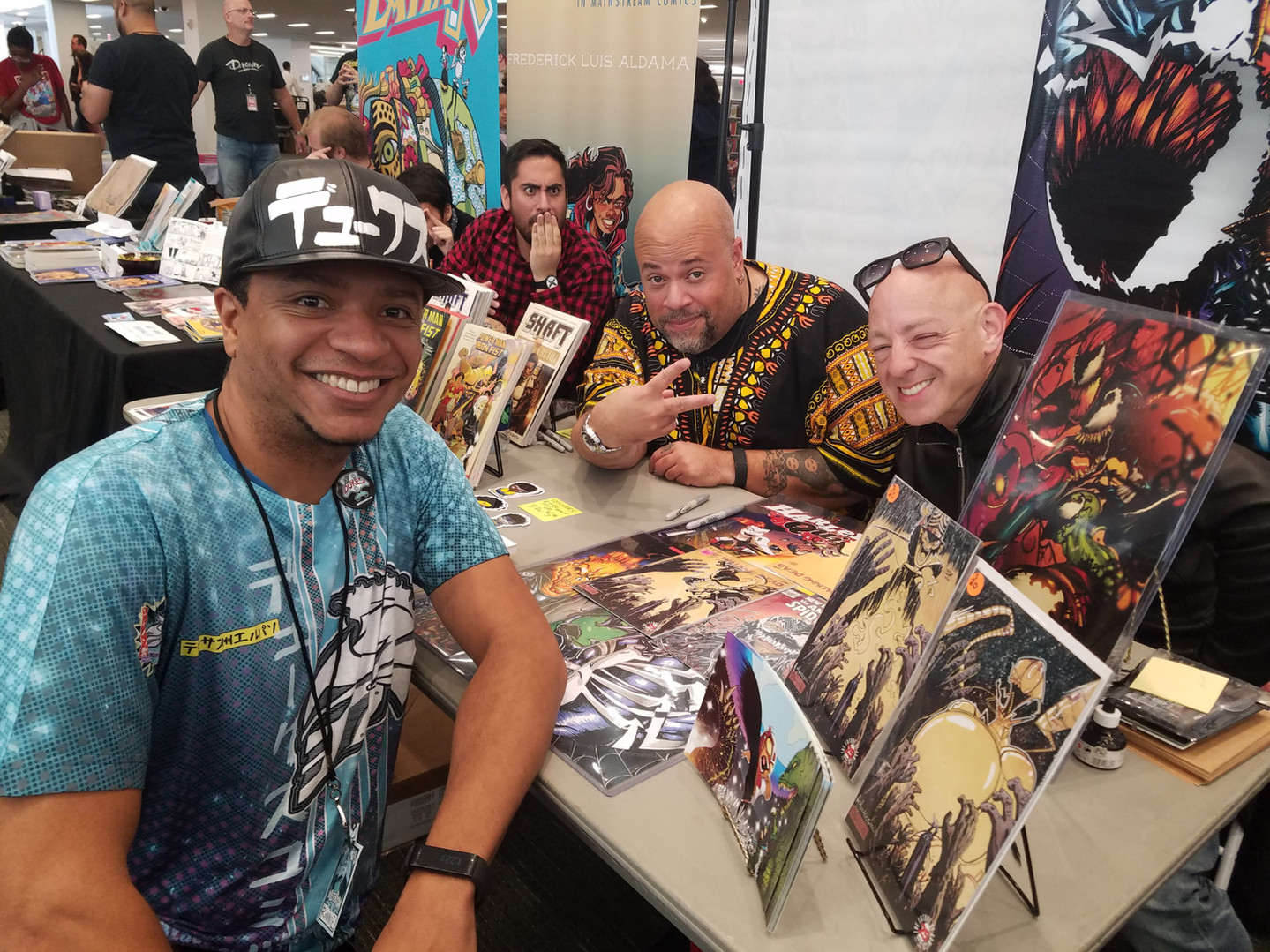 Ronnie Dukes with David Walker and Brian Michael Bendis