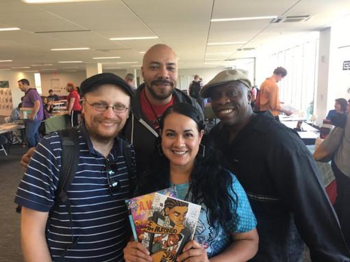 Elvira with John Jennings, Stacy Robinson and Damian Duffy