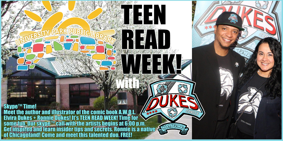 Teen Read Week at University Park library