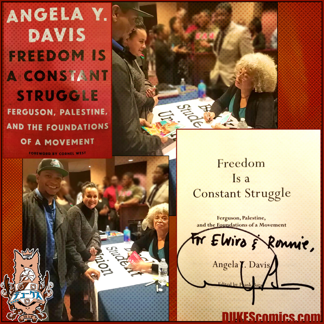 DUKEScomics with Angela Davis