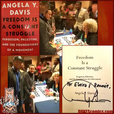 DUKEScomics with Angela Davis