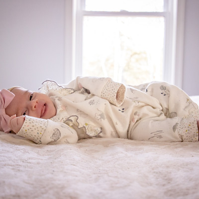 Burcham's newborn photoshoot