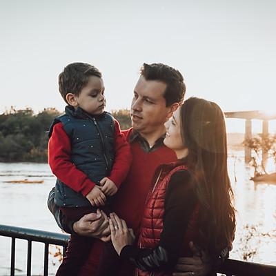 Gasperi's family