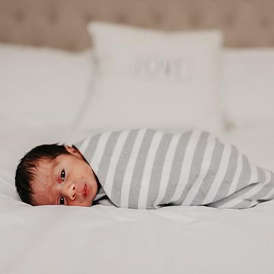 Lucca's newborn