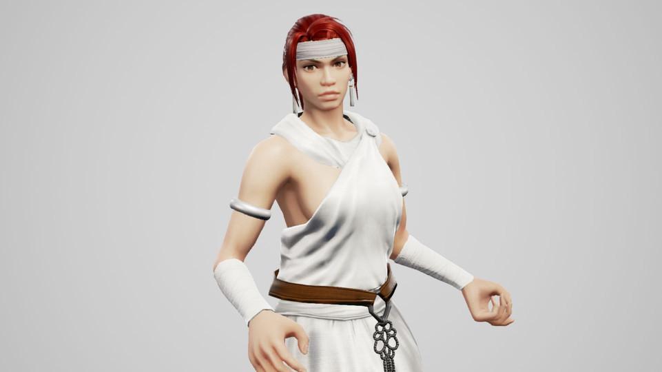 Nariko Athena Costume (Heavenly Sword)