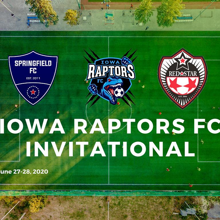 Iowa Raptors FC Invitational - Sunday Day Pass