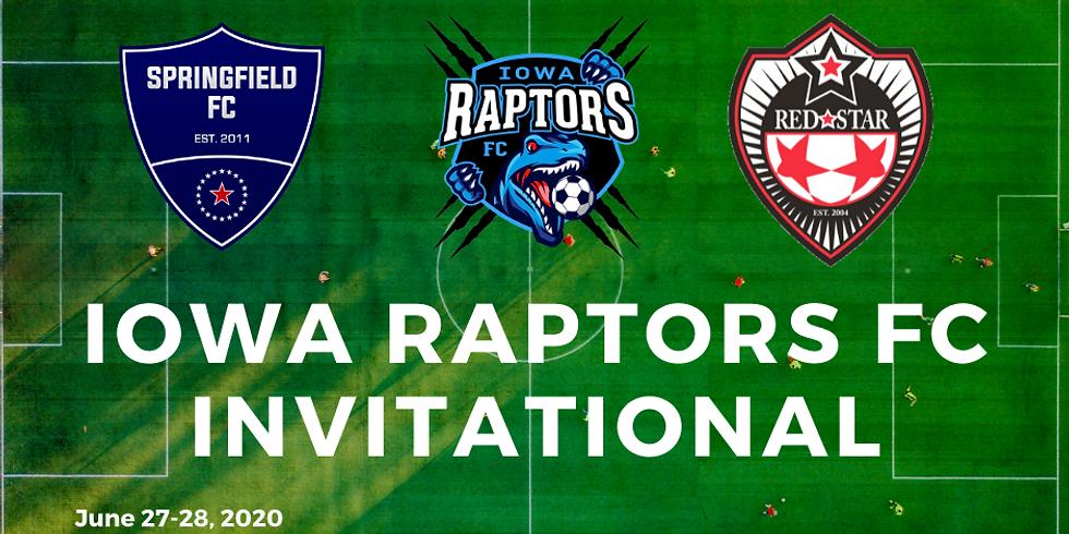 Iowa Raptors FC Invitational - Saturday Day Pass