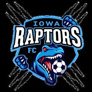 Iowa Raptors FC Logo