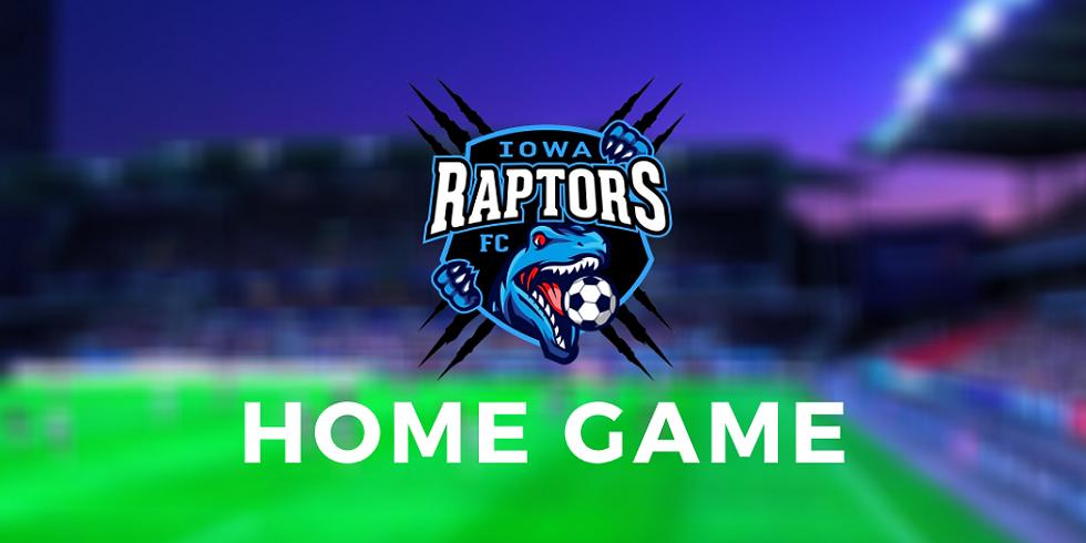 Iowa Raptors FC vs CKS Warta SC (Chicago)