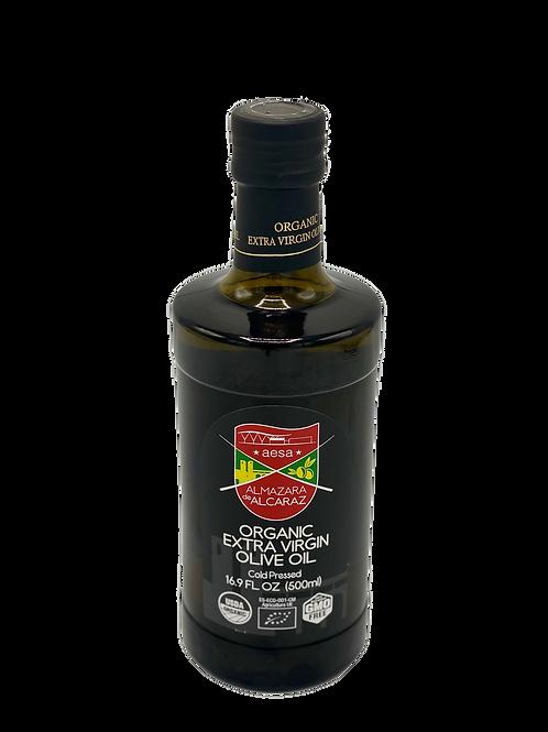 Medium Organic Extra Virgin Olive Oil-USDA Organic-Kosher-16.9 fl oz