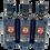 Thumbnail: 3 Bottles-Robust Extra Virgin Olive Oil-USDA Organic-Kosher-16.9 fl oz
