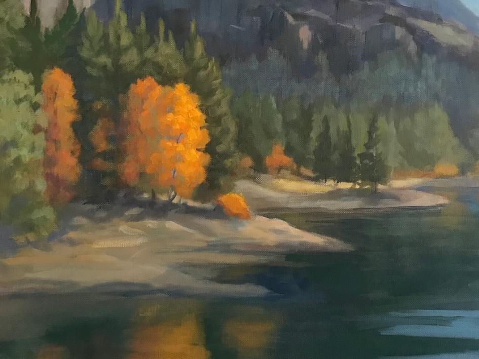 Silver Lake in Fall