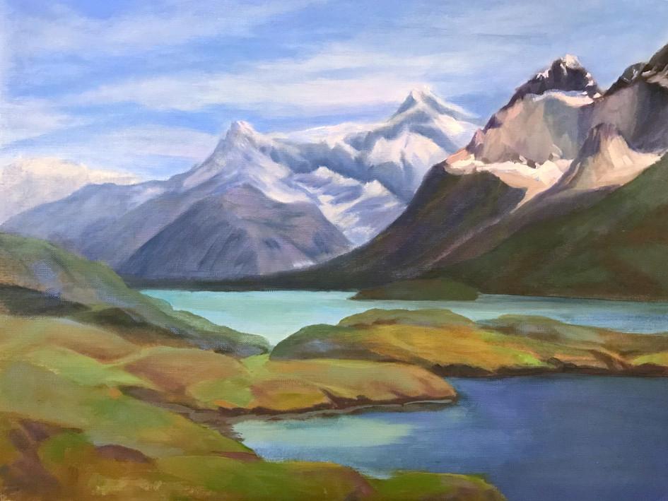 Torres Del Paine Looking North