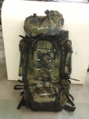 Camo backpack L