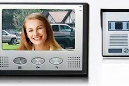 "7"" LCD Colour Video Intercom system"