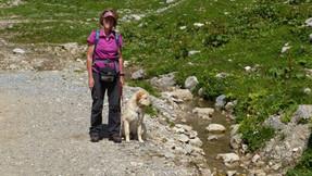Malu und Marion in Oberstdorf beim Wandern